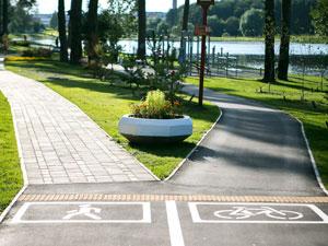 Парк «Панфиловский»: итог благоустройства Школьного озера