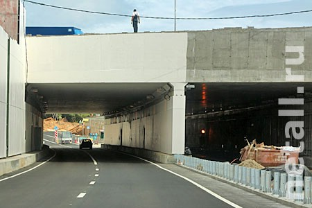 Запущено движение по тоннелю у «Штыков»