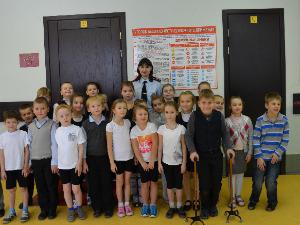 Автоинспекторы Зеленограда в Международный день инвалидов посетили школу надомного обучения № 367