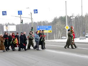 22 и 23 февраля ограничат движение транспорта
