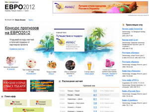 Определен победитель конкурса прогнозов Euro-2012